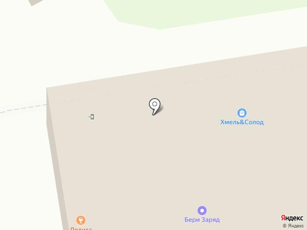 Хинкальная на карте Москвы