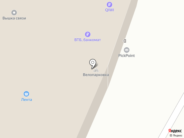PickPoint на карте Мытищ