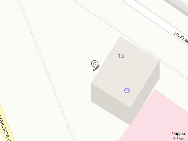 Адвокатский кабинет Оганесян А.Э. на карте Новороссийска