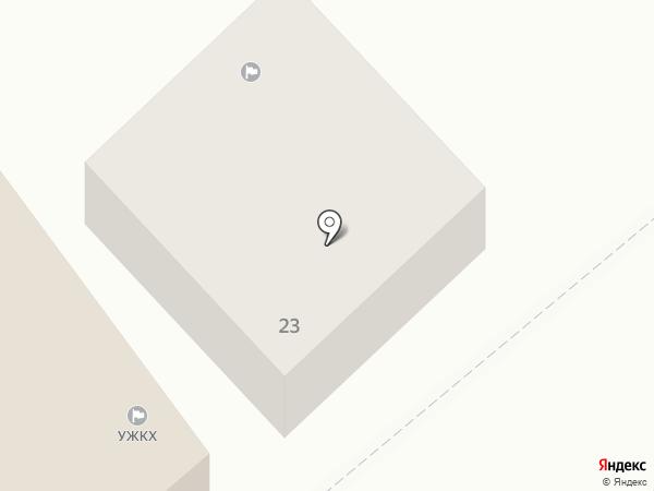 ГУК, МУП на карте Новороссийска