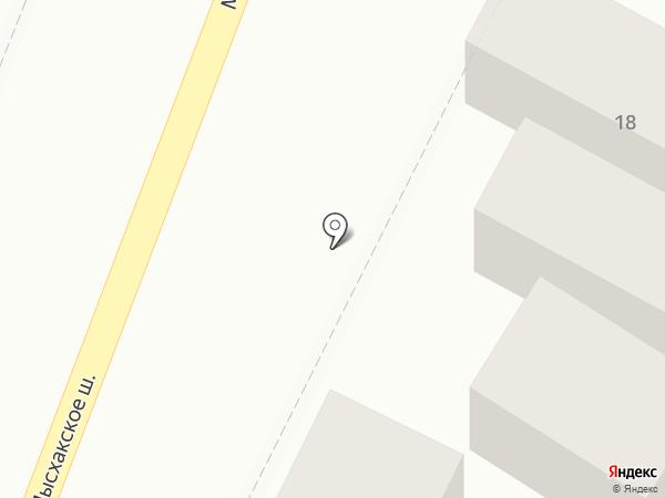 KMCAR на карте Новороссийска