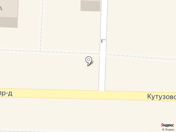 Молочный дворик на карте Домодедово