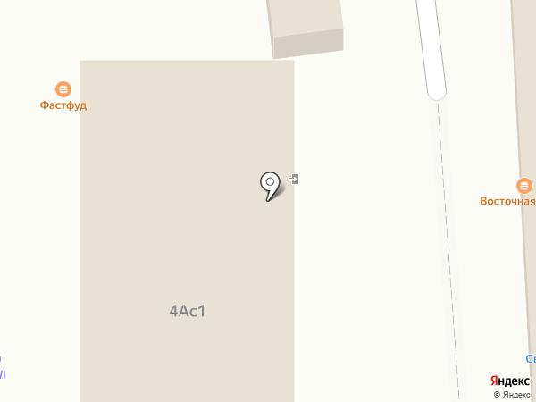 Богатырь на карте Домодедово