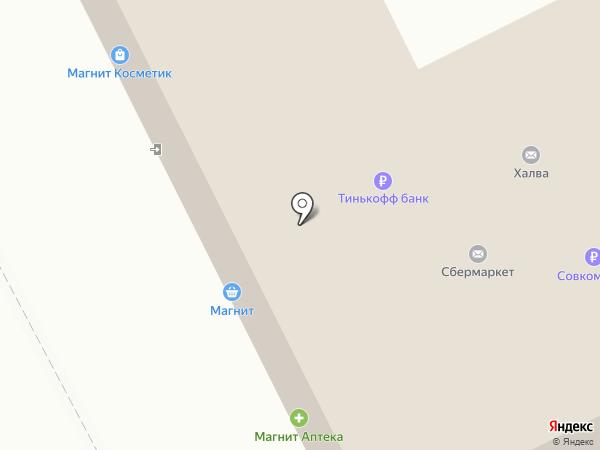 Магазин оптики на карте Москвы