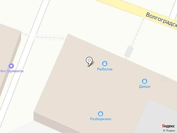 Салон-магазин дверей на карте Новороссийска