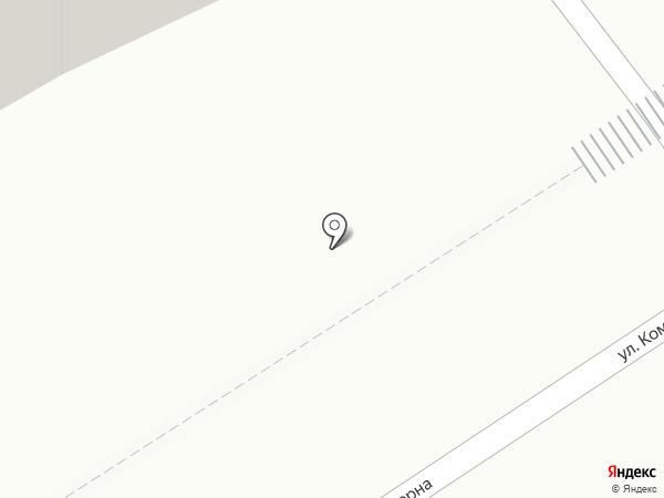 Гаражавтострой, МУП на карте Мытищ