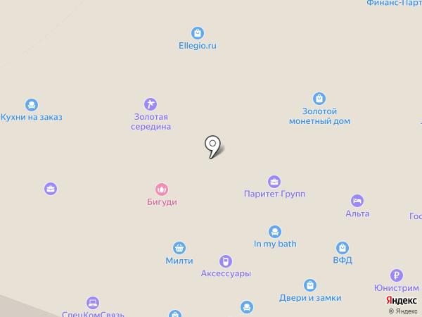 Спин Рус на карте Мытищ