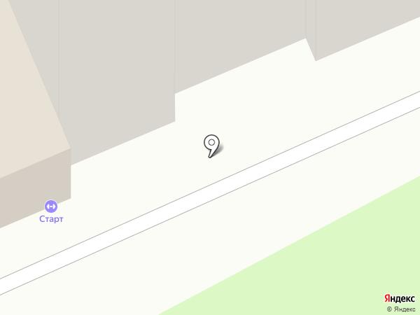 Физкультурно-оздоровительный клуб инвалидов Старт, МБУ на карте Домодедово