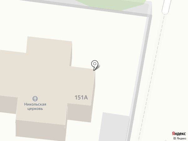 Свято-Никольский храм на карте Старого Оскола