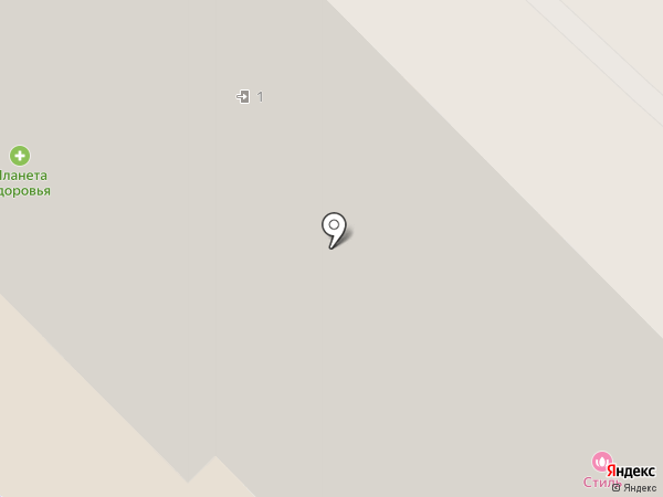 Планета Здоровья на карте Домодедово