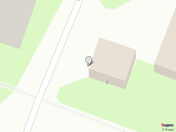 Радуга на карте Новороссийска