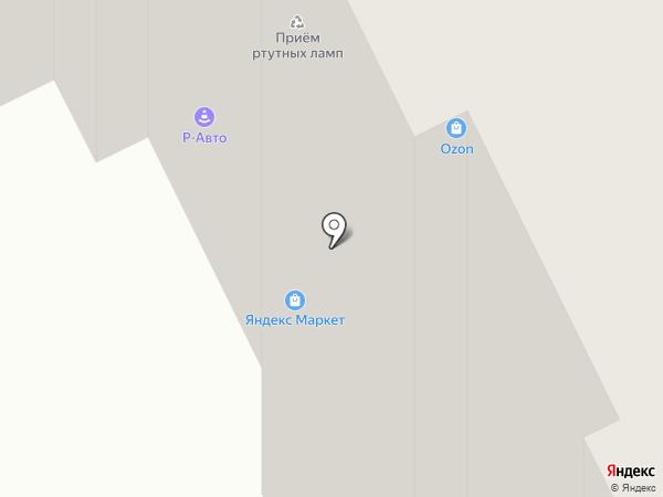 Р-Авто на карте Москвы