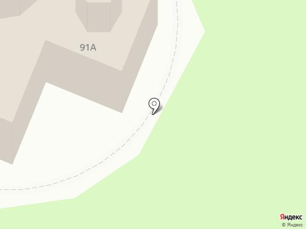 Храм Рождества Христова в Домодедово на карте Домодедово