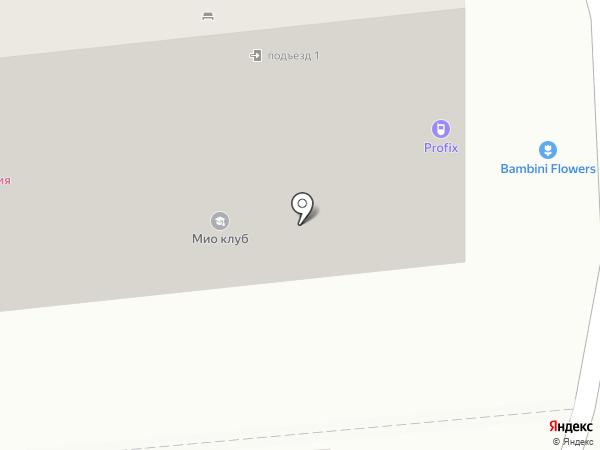 Гермес на карте Новороссийска