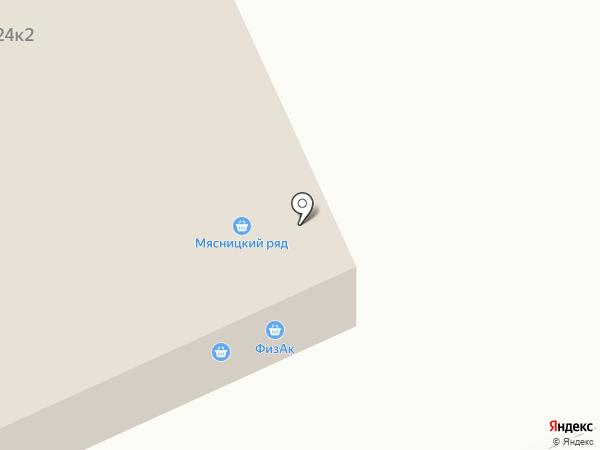 Норман на карте Москвы