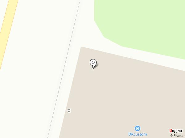 Магазин фастфудной продукции на карте Мытищ