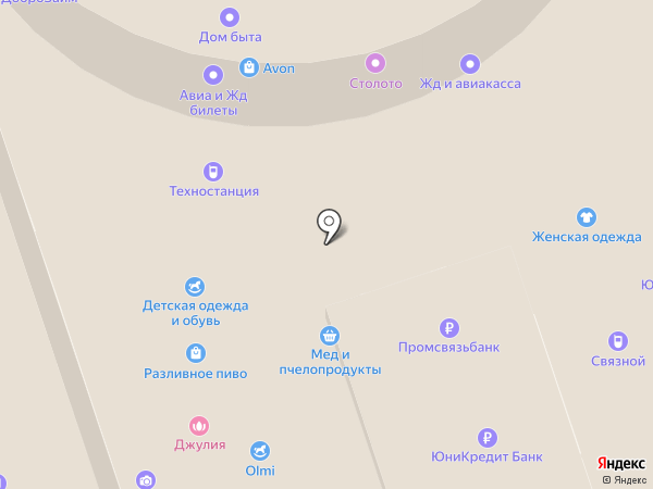 ТЕХНОСТАНЦИЯ на карте Домодедово