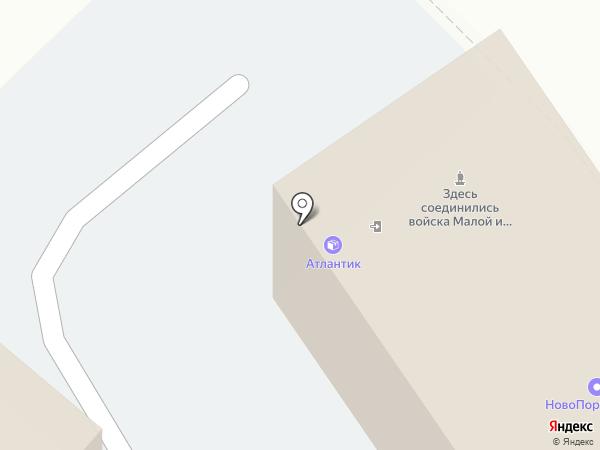Терминал Юг на карте Новороссийска