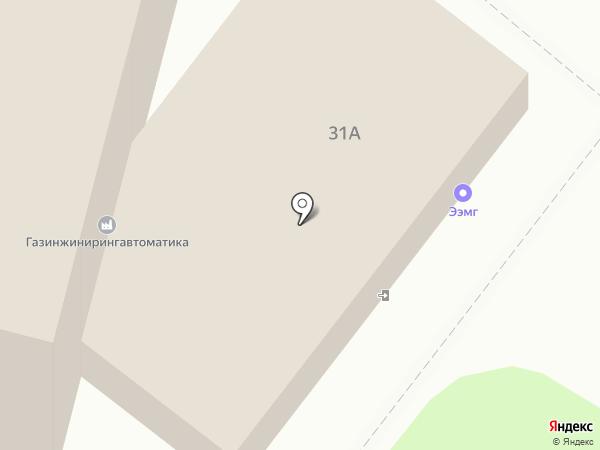 ГазИнжинирингАвтоматика на карте Москвы