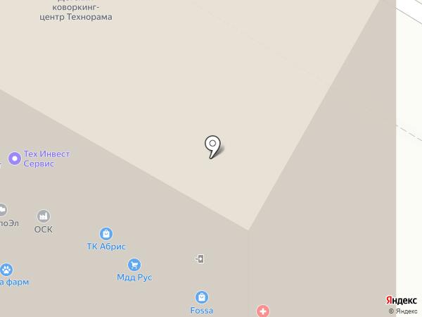 Everad на карте Москвы