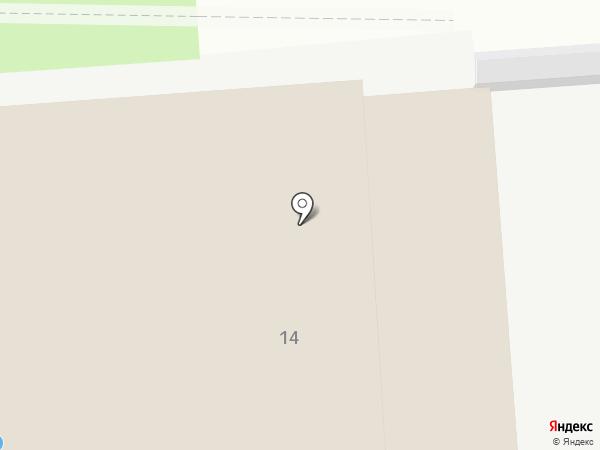Физкультурно-оздоровительный комплекс на карте Старого Оскола