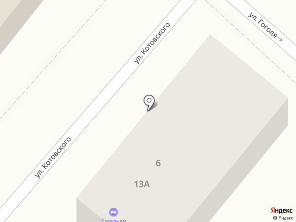 Комиссионный магазин №1 на карте Новороссийска
