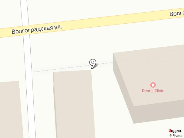 Киоск фастфудной продукции на карте Новороссийска