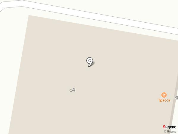 Трасса на карте Домодедово