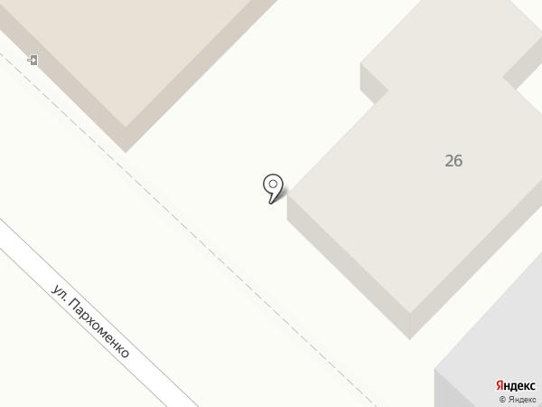 Игуана на карте Новороссийска