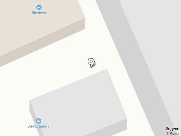 Автомойка на Корнеева на карте Домодедово
