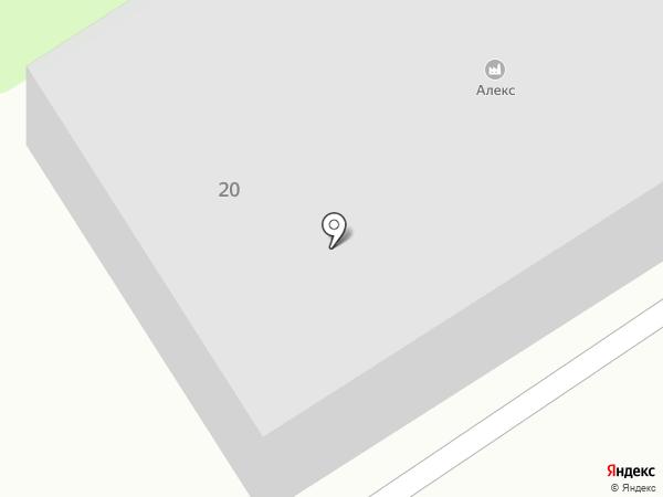 Алекс на карте Мытищ