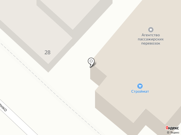 Новороссийская морская контейнерная компания на карте Новороссийска