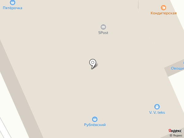 Магазин подарков и сувениров на карте Домодедово