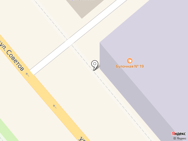 Булочная №19 на карте Новороссийска