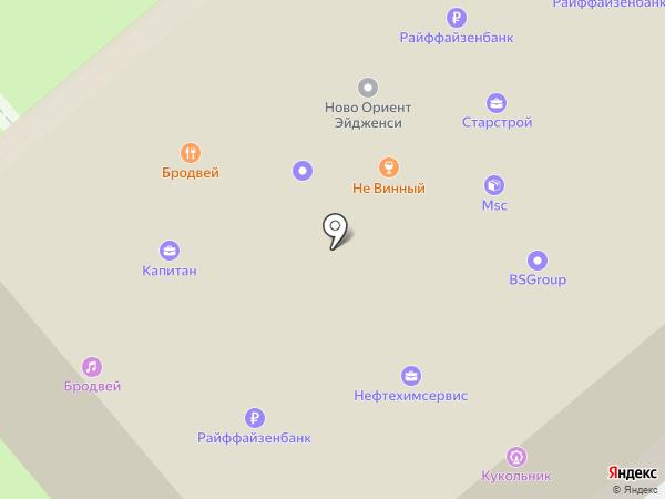 Райффайзенбанк на карте Новороссийска