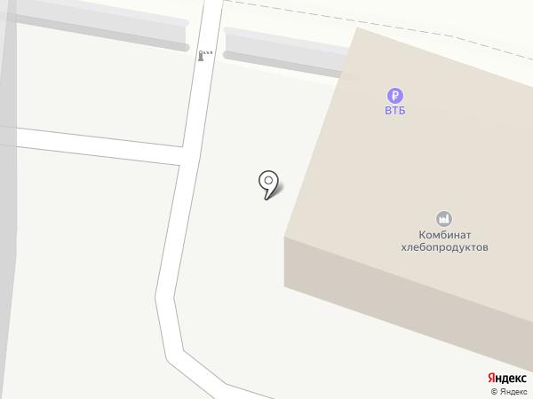Новороссийский Комбинат Хлебопродуктов, ПАО на карте Новороссийска