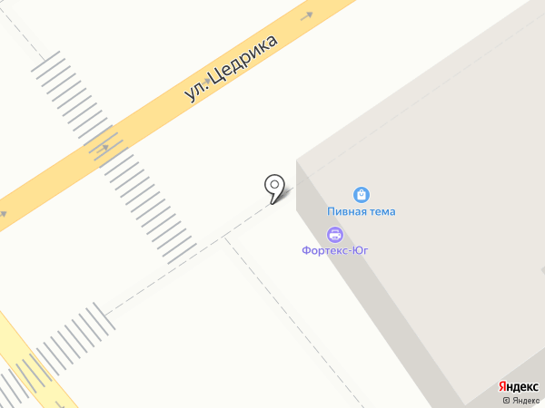 РакоедовЪ на карте Новороссийска