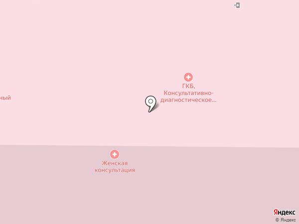 Мытищинская городская клиническая больница на карте Мытищ