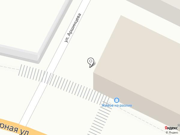 Швейная мастерская на карте Новороссийска