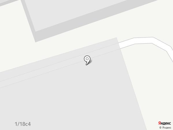 Геркулес на карте Москвы