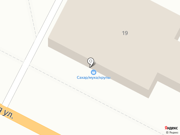 Карамелька на карте Новороссийска