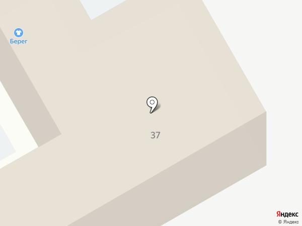 Берег на карте Домодедово