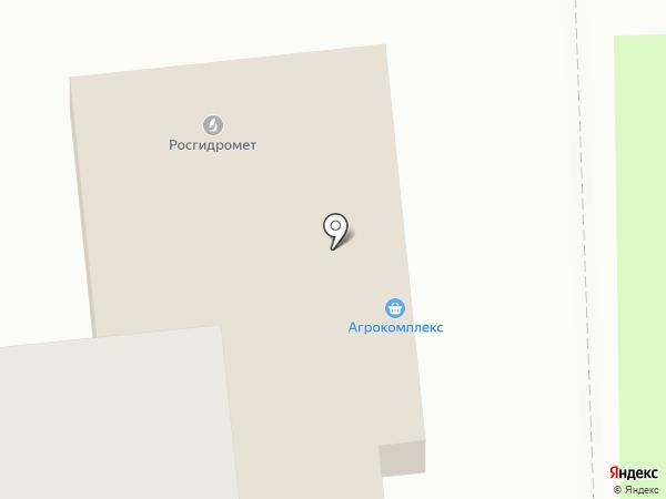 Агрокомплекс на карте Новороссийска