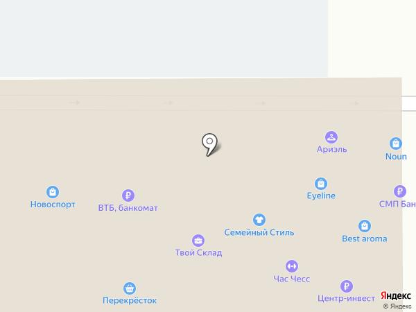 Банкомат, Банк ВТБ 24, ПАО на карте Новороссийска
