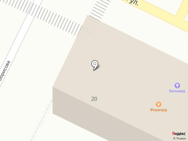 Дизайн Завод на карте Новороссийска