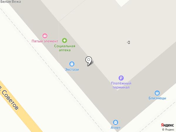 Format на карте Новороссийска