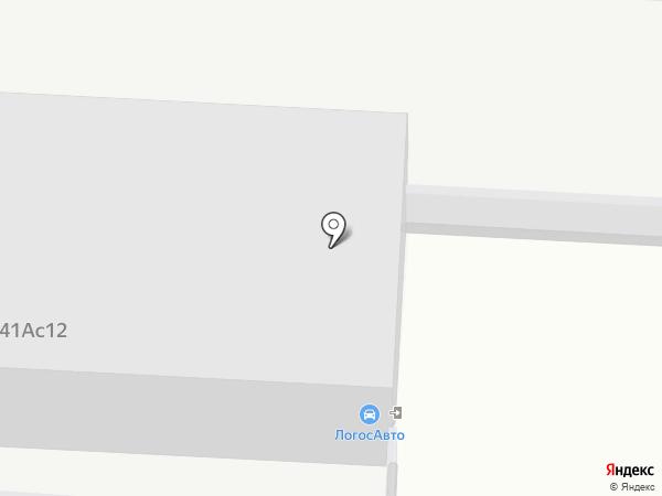 Логос Авто на карте Москвы