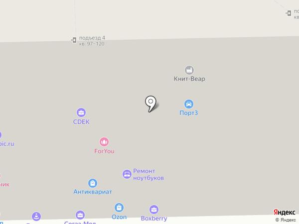 Джи-Би Авто на карте Москвы