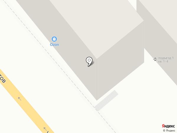 Тристар на карте Новороссийска