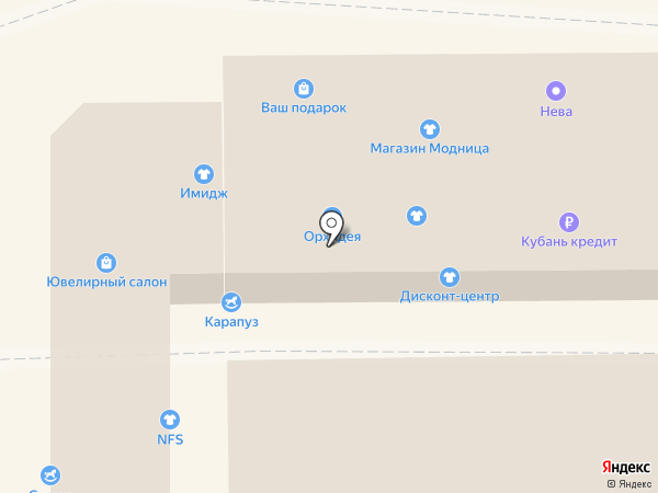 Дstock на карте Новороссийска